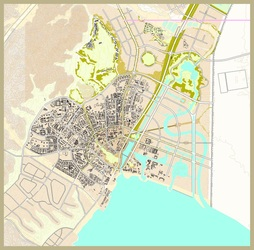Eilat Airport Reclamation and Development AI Architecture Urban